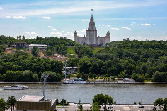 Власти Москвы обсуждают 10 вариантов новых канатных дорог
