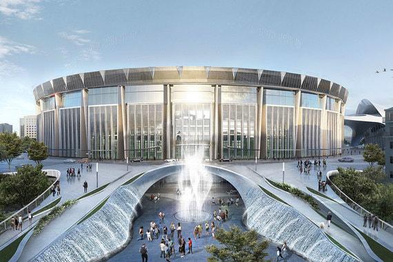 Как будет выглядеть обновленный «Олимпийский». Фоторепортаж