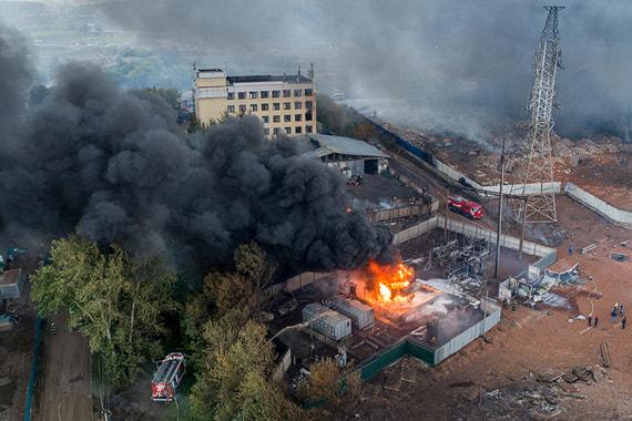normal 14k3 Крупный пожар на ТЭЦ в Мытищах. Что о нем известно