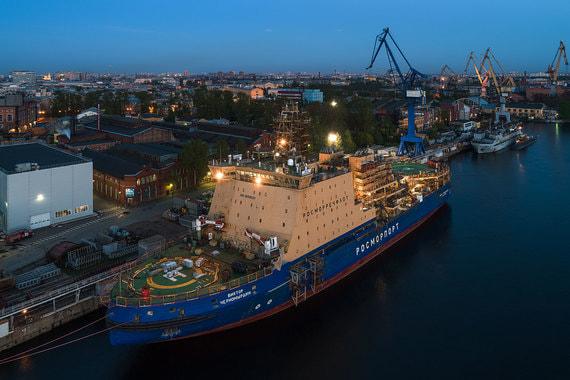 Ледокол «Виктор Черномырдин» за время строительства подорожал в 1,5 раза