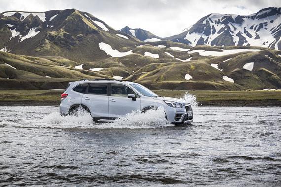 Subaru Outback, XV и Forester: к границе миров