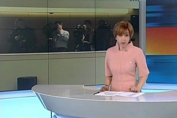 Кадр из телепередачи «Неделя» с Марианной Максимовской
