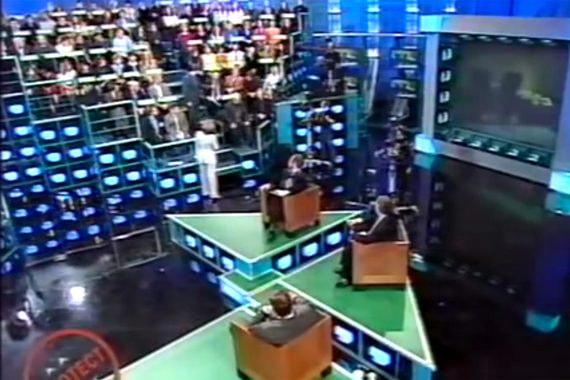 Кадр из телепередачи «Глас народа»