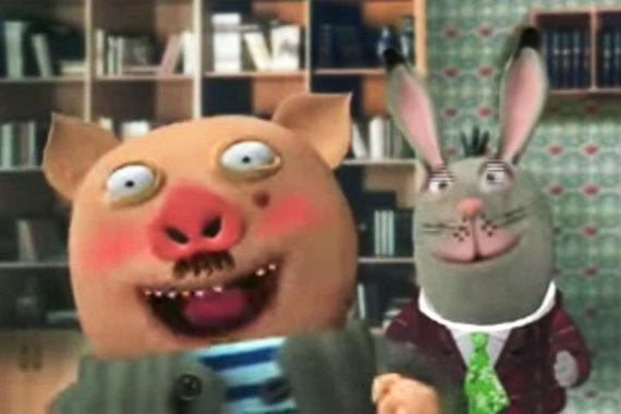 Кадр из телепередачи «Тушите свет!»