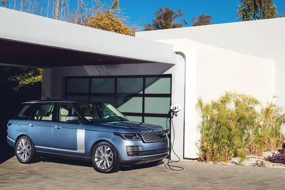 Range Rover PHEV: будущее вкратце