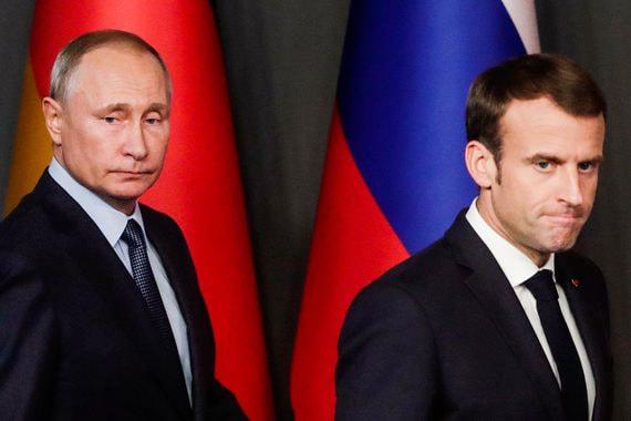 Кремль объявил о возобновлении контактов в сфере безопасности с Францией
