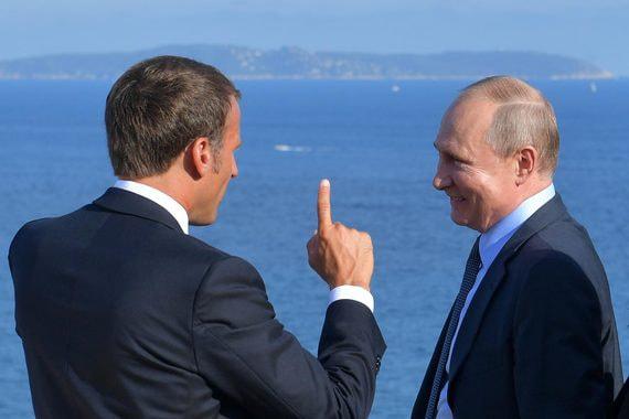 Встреча Путина и Макрона может помочь реанимации «нормандской четверки»
