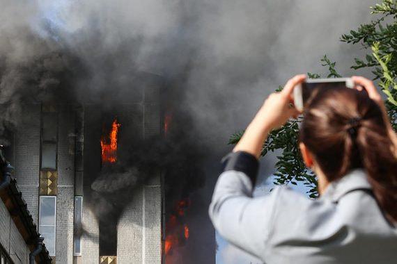 normal 1dgz Пожар на свечном производстве в Санкт Петербурге. Фотографии