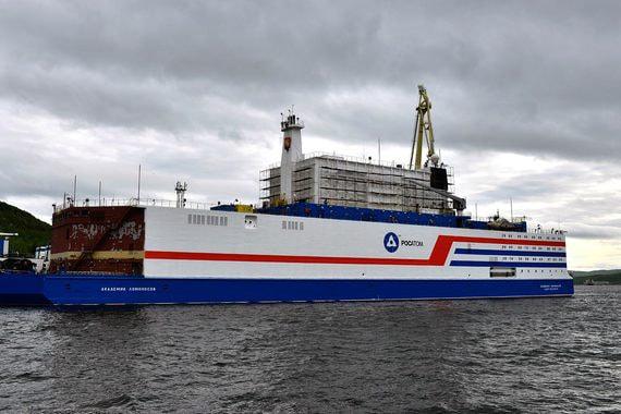 Первая в мире плавучая атомная ТЭС отправляется на Чукотку