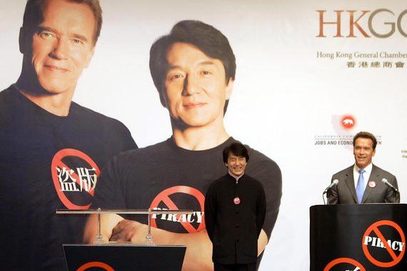 Производитель фильма «Вий» требует долг с Джеки Чана и Арнольда Шварценеггера