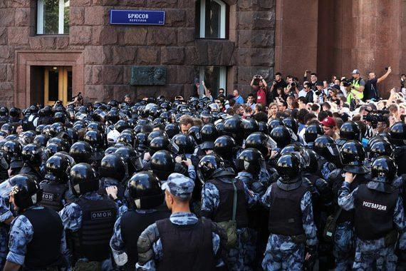 Сумма исков к организаторам протестов в Москве превысила 14 млн рублей