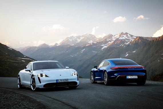 Porsche представила первый электромобиль бренда