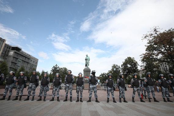 Московские протесты опасны для российских корпораций