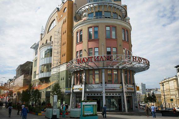 Торговый центр «Наутилус» в центре Москвы сменил владельца