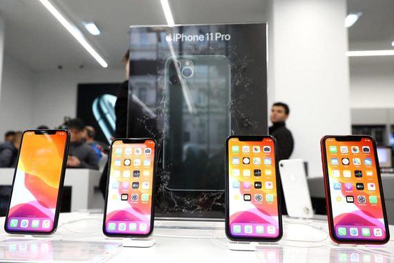 Новые модели iPhone продаются в России лучше предыдущих