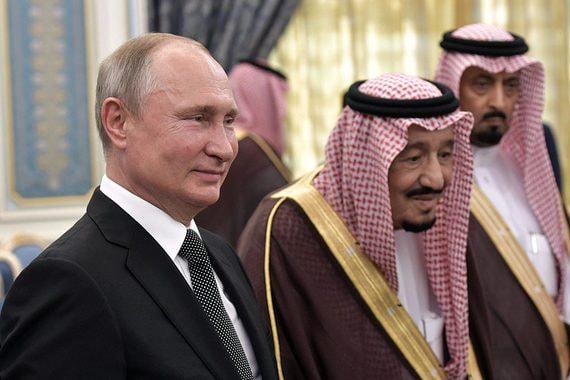 Путин во дворце. Репортаж из Эр-Рияда