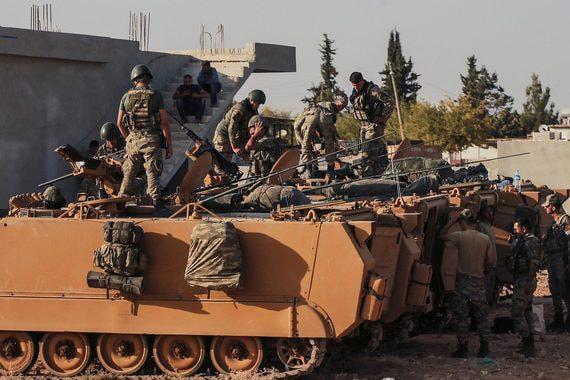 Курды договорились с властями Сирии о действиях против Турции