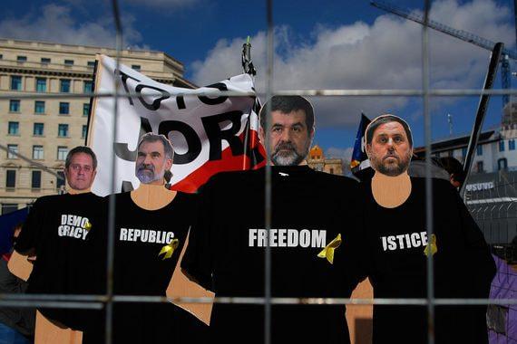 Испанский суд наказал каталонских сепаратистов