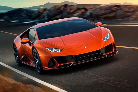 normal uln Lamborghini представила обновленную версию суперкара Huracan