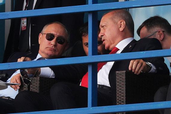 Путин позвал Эрдогана на переговоры в Москву