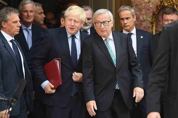 Великобритания и Евросоюз договорились о новой сделке по Brexit