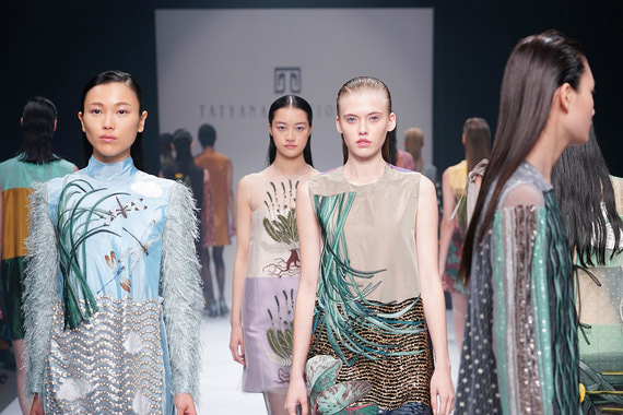 Модный дом «Татьяна Парфенова» стал первым российским участником недели Моды в Токио