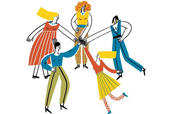 Какой нетворкинг помогает женщинам преуспеть в карьере