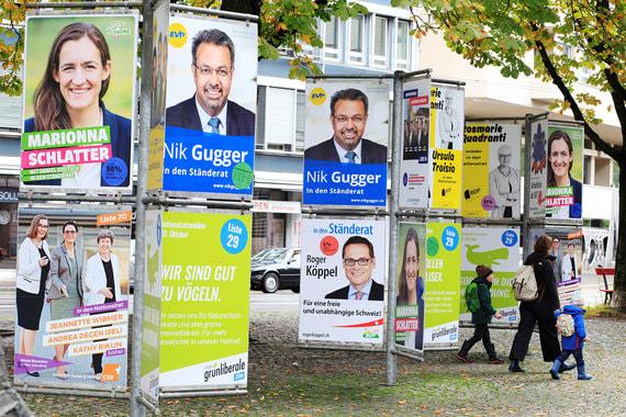 Зеленые добились успехов на выборах в Швейцарии