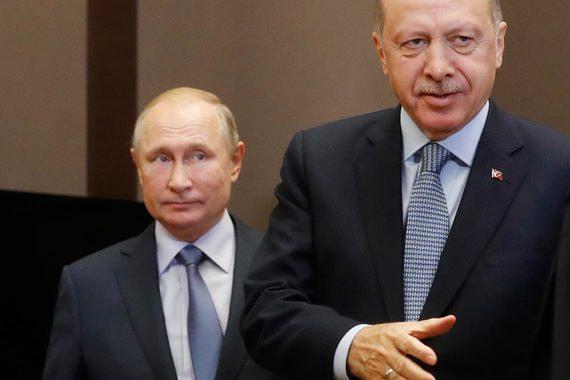 Путин и Эрдоган согласовали границы зоны безопасности в Сирии