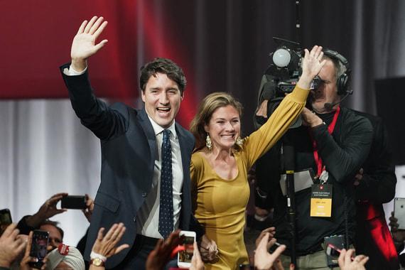 Партия премьера Трюдо выиграла выборы в парламент Канады