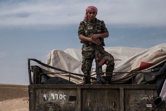 Российская военная полиция выдвинулась к сирийско-турецкой границе