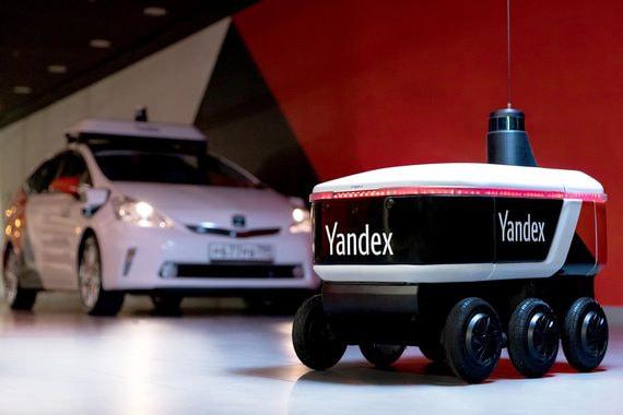 «Яндекс» начал тестирование робота-курьера на колесах