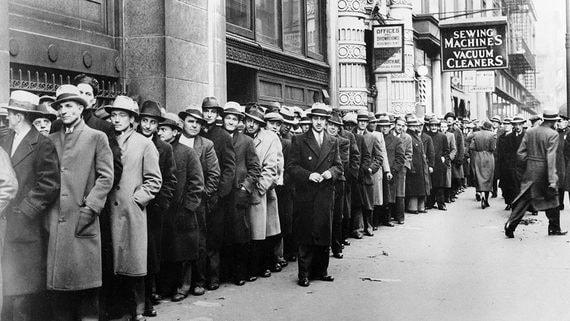 На память о Великой депрессии