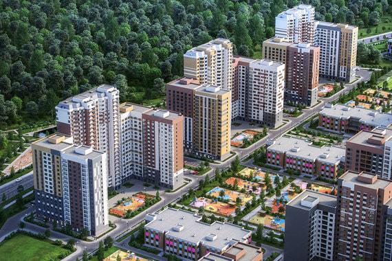 ФСК «Лидер» построит микрорайон на 600000 квадратных метров на юге Подмосковья