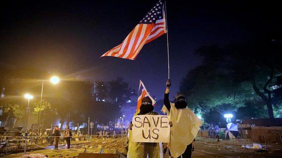 Сенат США единогласно поддержал протестующих в Гонконге