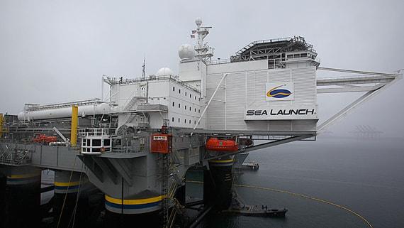 США разрешили транспортировку платформы «Морской старт» S7 в Россию