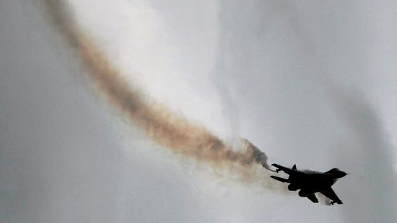 В Египте разбился истребитель российского производства МиГ-29