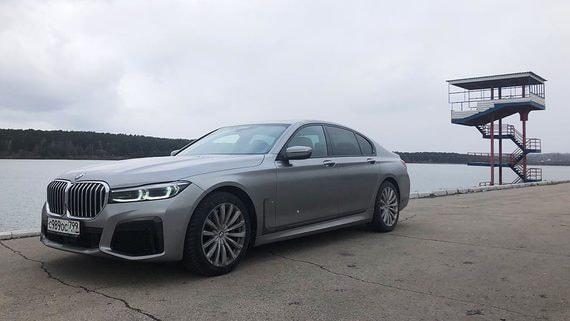 BMW 750d: Бедный родственник