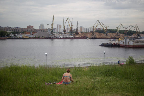 Территорию Северного речного порта застроят жильем