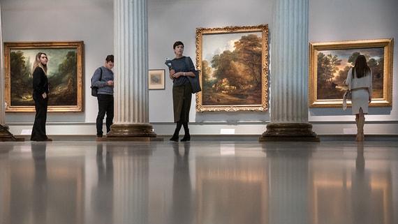 В Пушкинском музее открылась выставка Томаса Гейнсборо