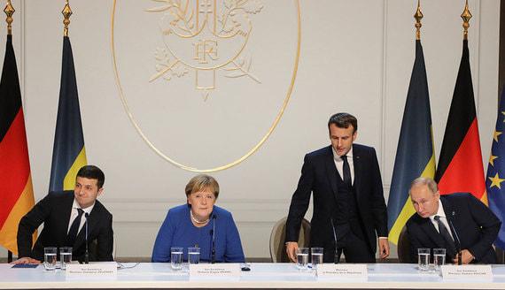 «Нормандская четверка» договорилась о «перезапуске» минских соглашений