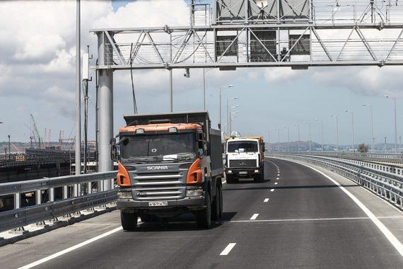 Открытие Крымского моста упростило и увеличило грузоперевозки на полуостров