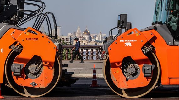 Благоустройство Москвы в этом году оказалось дороже Крымского моста