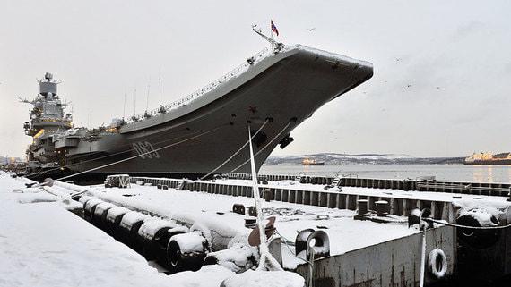 На авианесущем крейсере «Адмирал Кузнецов» произошел пожар