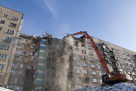 Владимир Путин поручил расселить пострадавший от взрыва дом в Магнитогорске