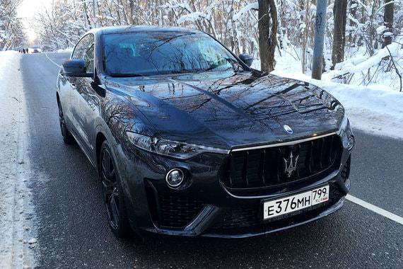 normal 1emk Maserati Levante: Акула на каблуках