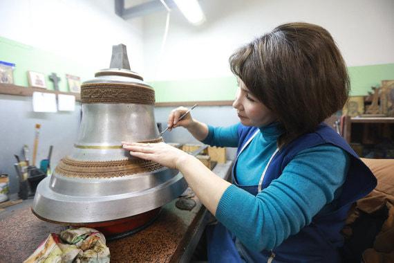 Как изготавливают колокола для главного храма Росгвардии