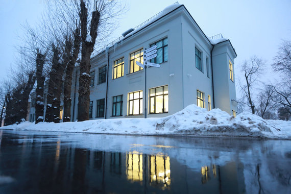 normal 119e Абрамович и Жукова откроют мастерские «Гаража» на ВДНХ