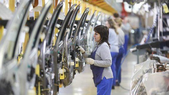 Экспорт российских автомобилей резко вырос в прошлом году
