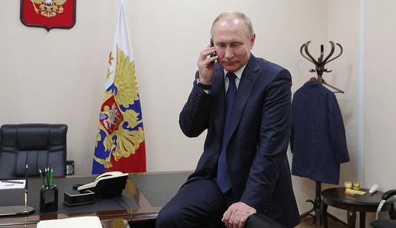 Путин в разговоре с Зеленским поставил вопрос о выполнении минских соглашений